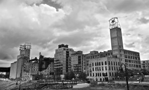 Mill City Ruins Museum in Minneapolis