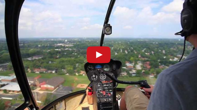 Sun Aero Helicopters Chicago Aerial Photography Tour (Video)