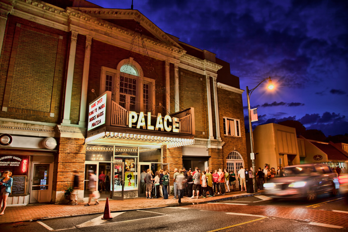 The Palace Theater in Lake Placid, New York.