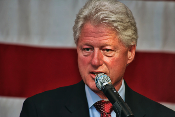President Clinton on the campaign trail for Hillary at Villa Cesare in Schererville, IN