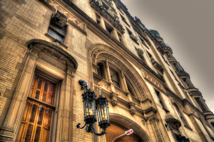The Dakota apartments and residence in New York City.