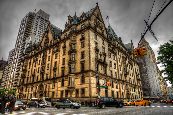 The Dakota Apartments And Residence In New York City At Central Park West W 72nd