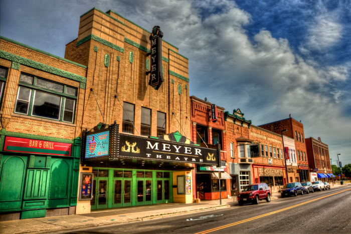 The Meyer Theatre in Green Bay, Wisconsin.