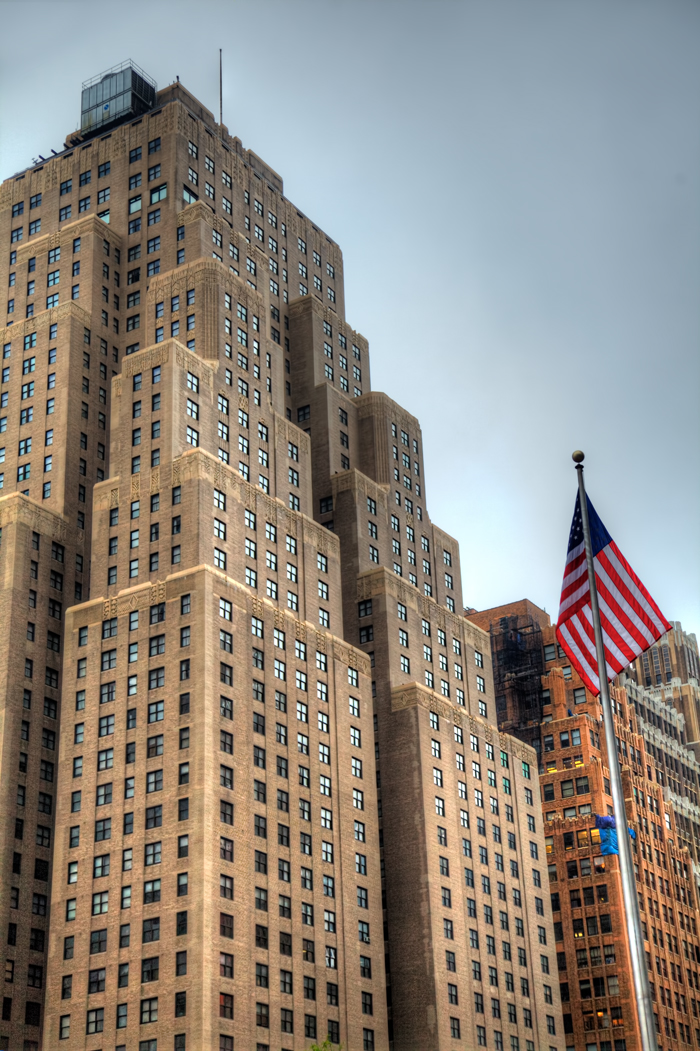 The New Yorker Building in New York City