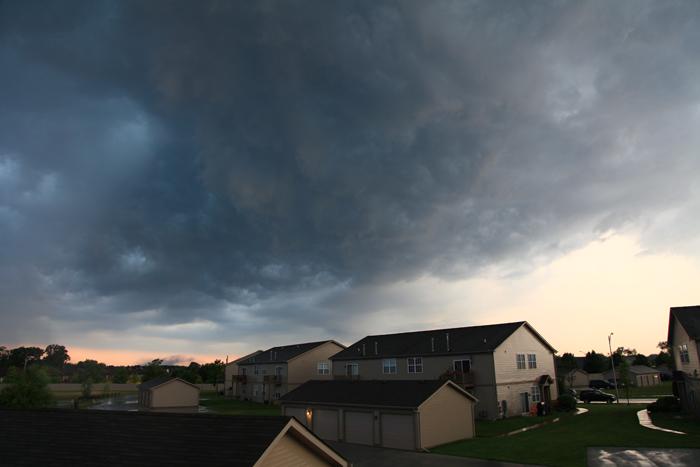 Schererville Hail Storm on June 28, 2012