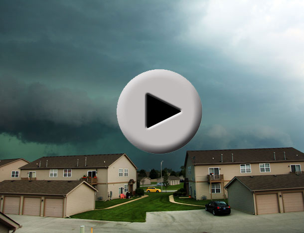 Chicago and Northwest Indiana Severe Storm on August 4, 2012