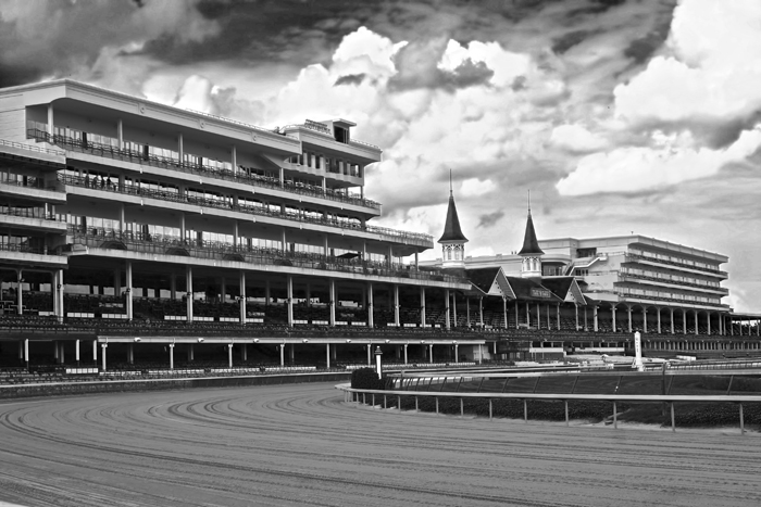 Churchill Downs, home of the Kentucky Derby, in Louisville, KY.