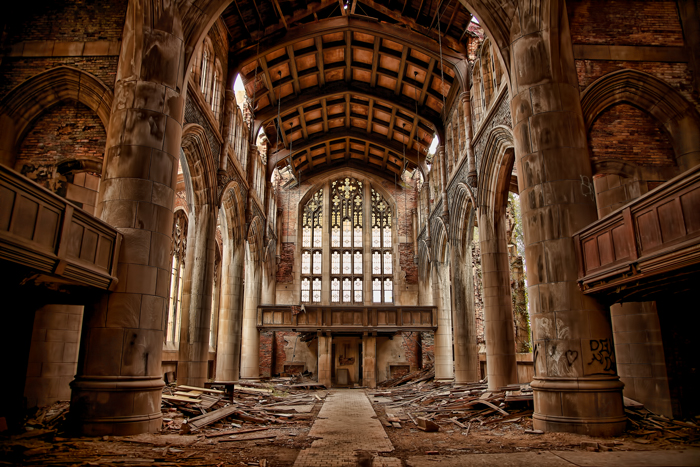 City Methodist Church in Gary, Indiana – Urban Exploration