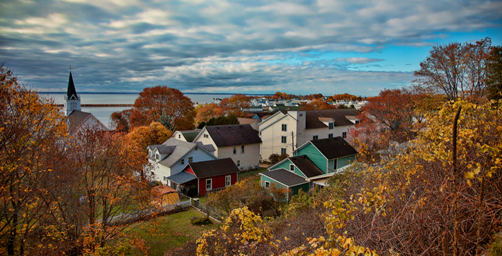 Fall on Mackinac Island, October 2012