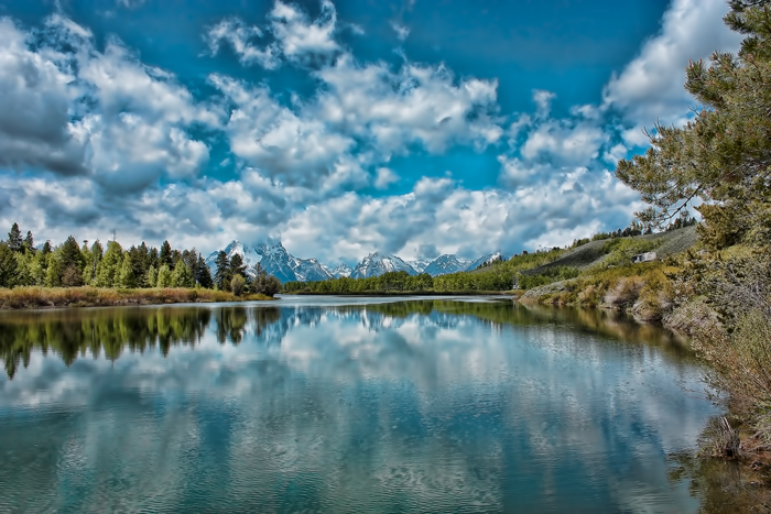 Grand Teton National Park near Jackson, Wyoming