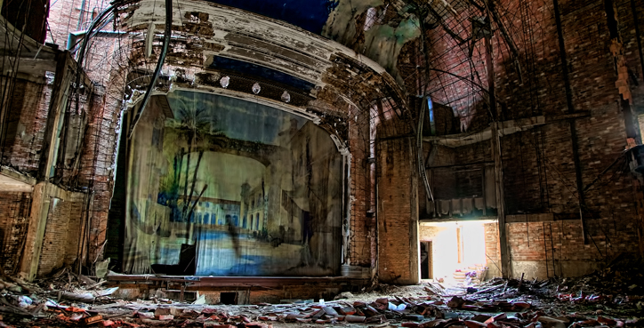 Palace Theater in Gary, Indiana – Urban Exploration