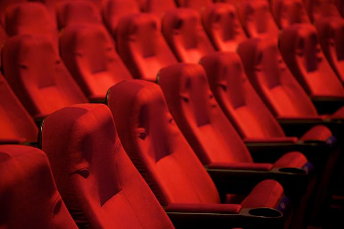 Red velvet theater seats.