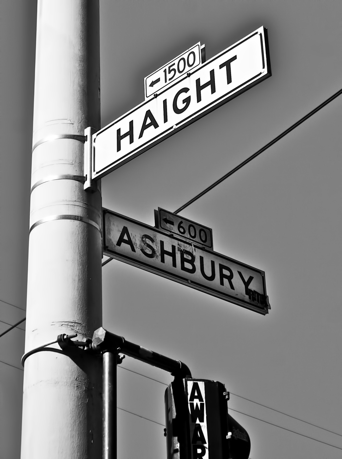 Haight Ashbury, the birthplace of American counterculture.
