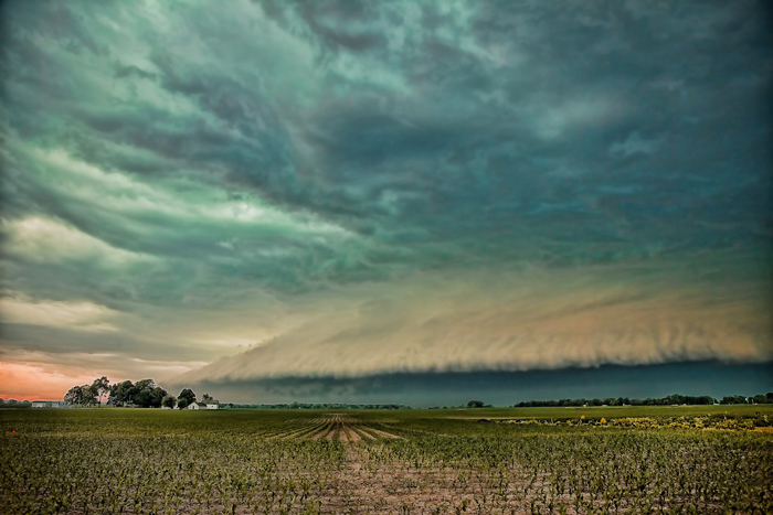 Northwest Indiana storm chaser and photographer Joey Lax-Salinas