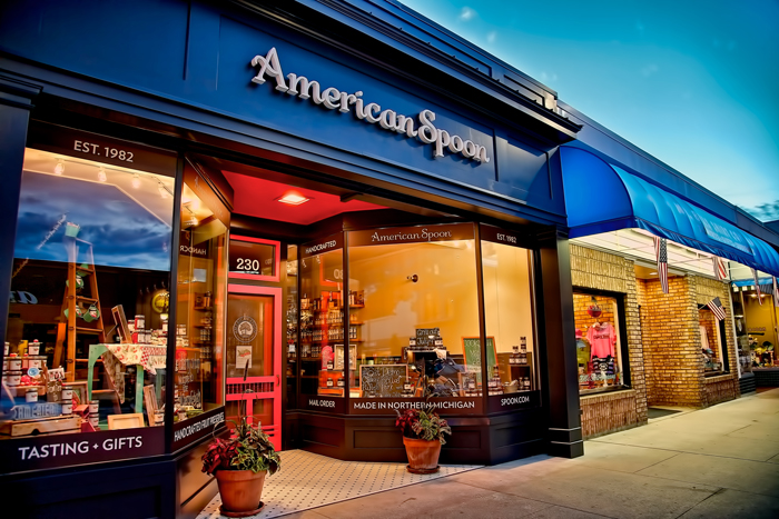 American Spoon in downtown Traverse City, Michigan