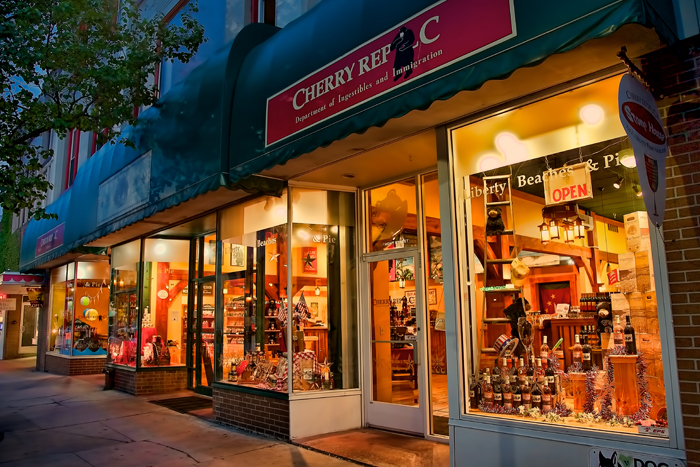 Cherry Republic in downtown Traverse City, Michigan