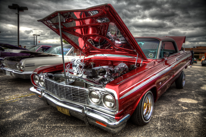 Low Rider Chevrolet in HDR