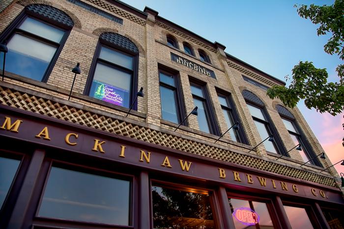 Mackinaw Brewing Company in Traverse City, Michigan.