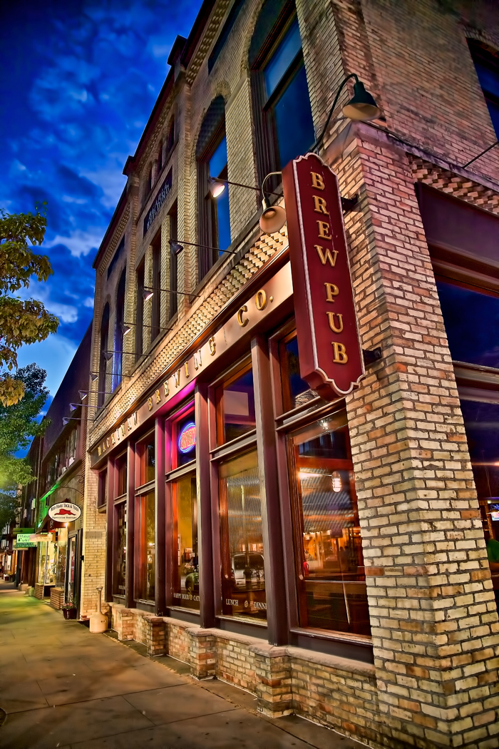 Mackinaw Brewing Company in downtown Traverse City, Michigan