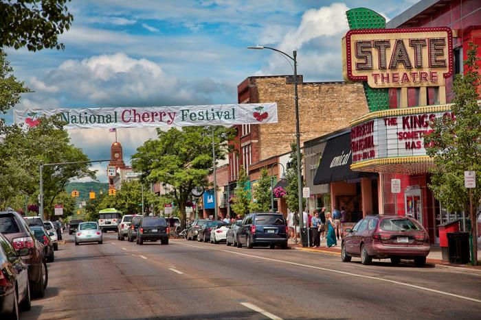 National Cherry Festival in Traverse City, Michigan