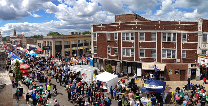 Pierogi Fest in Whiting, Indiana