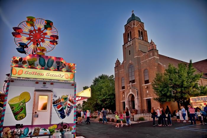 St. John the Evangelist Parish Festival in Saint John, Indiana.