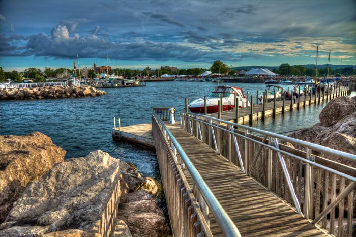 Duncan L. Clinch Marina in Traverse City