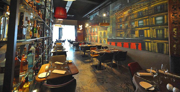 My TriBeCa photo featured in Casablanca Restaurant