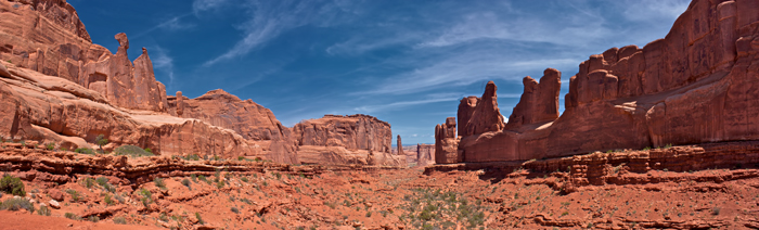 Park Place Monument in Arches National Park