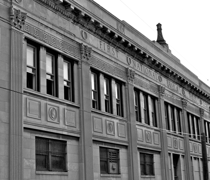 First National Bank of East Chicago - Robbed by John Dillinger in 1934
