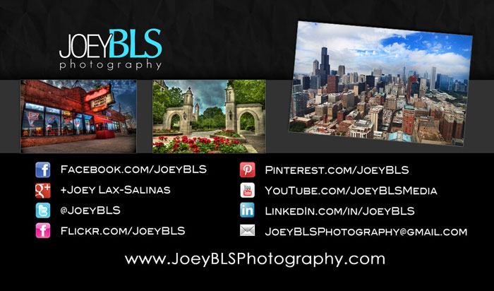 JoeyBLS Photography Contact Information