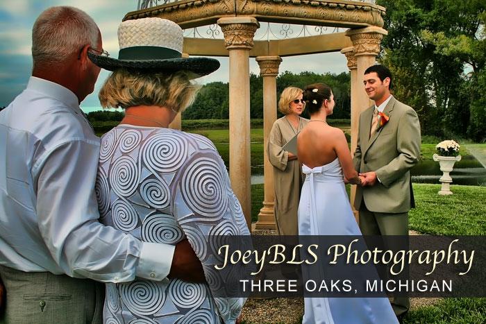 Three Oaks, Michigan Wedding Photographer