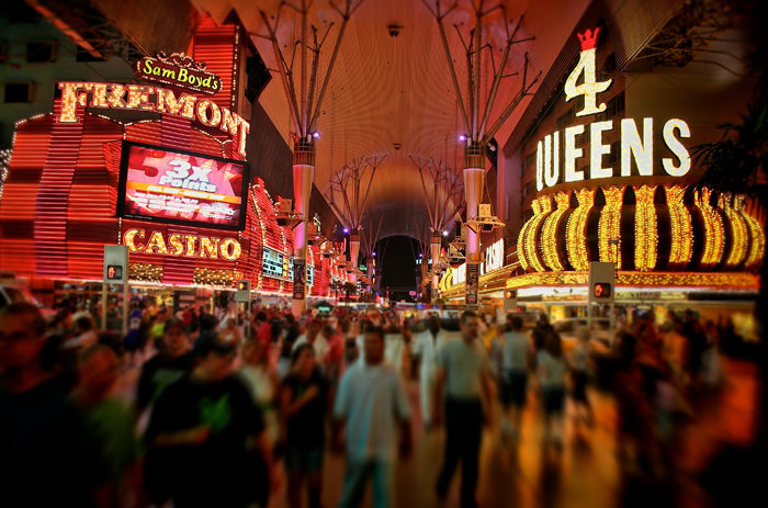 Fremont Street in Las Vegas, Nevada