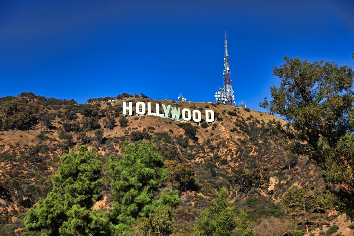 The Iconic Hollywood Sign Landmark