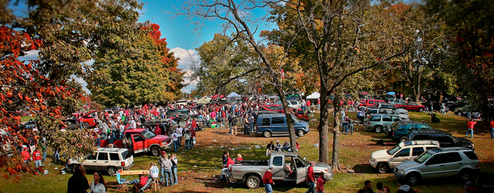 Indiana University Football Tailgating