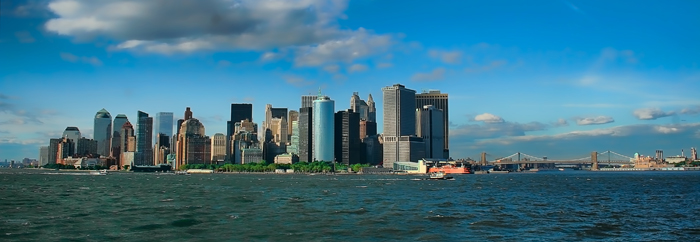 NYC Lower Manhattan Skyline