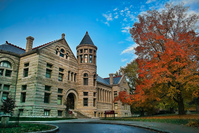 Maxwell Hall, Indiana University Campus
