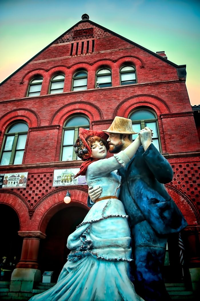 Renoir Statue in Key West, Florida