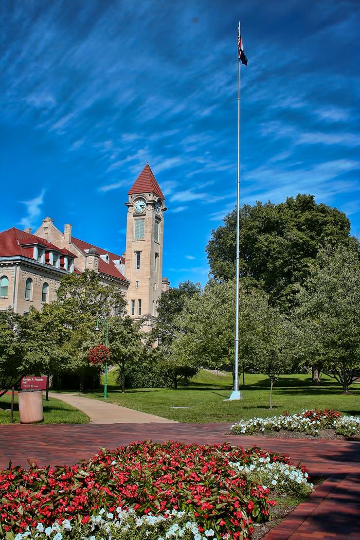Indiana University Bloomington Student Building