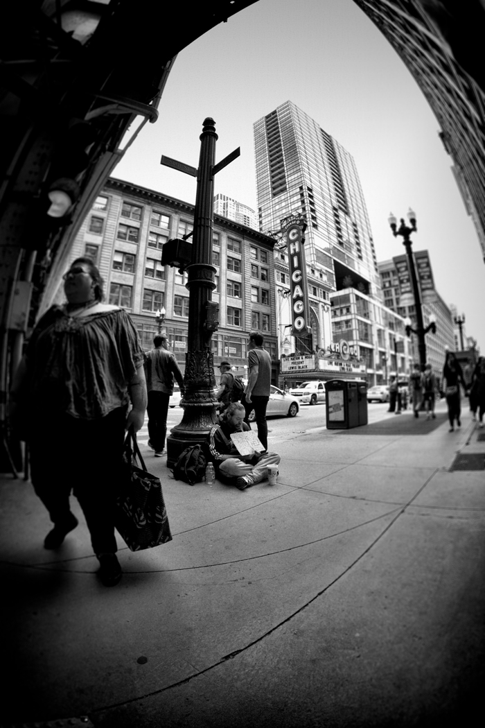 Homeless in Chicago: The Unnoticed
