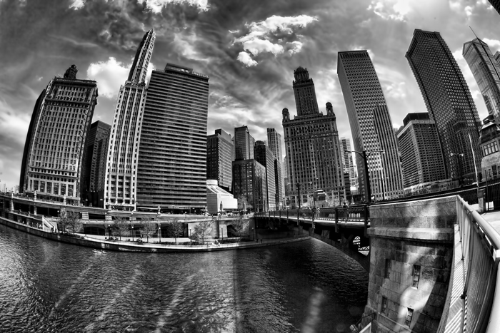 Chicago Black and White Photography