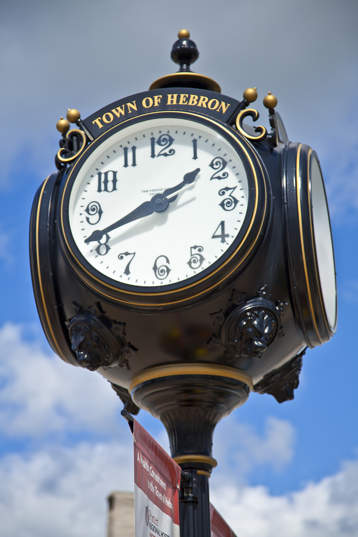 Hebron, Indiana Clock