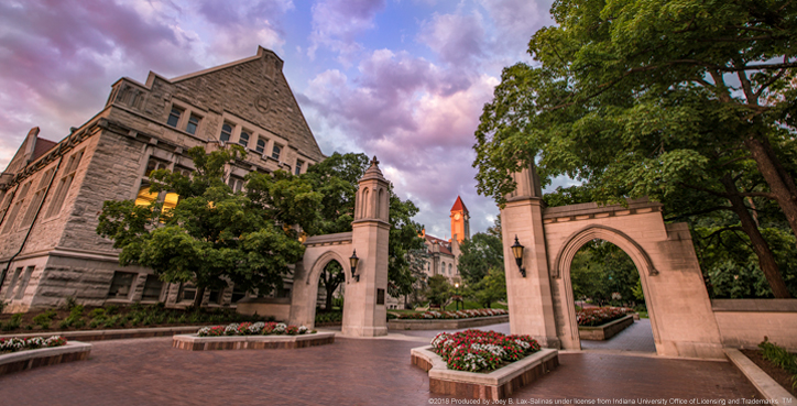 Indiana University Sample Gates Photo